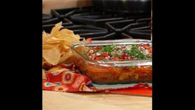 7 Layer Chili Dog Dip