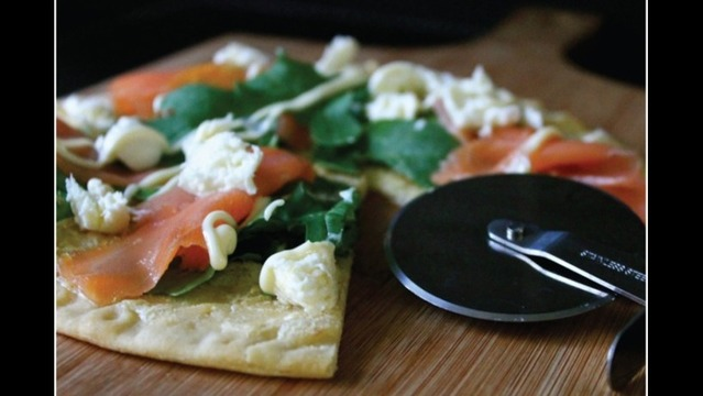Savor Recipe:  Salmon Pizza from August 15, 2013