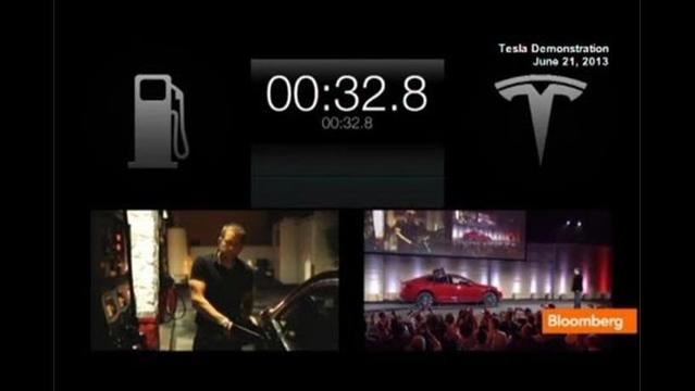Tesla's Musk shows system for powering up in 90 seconds