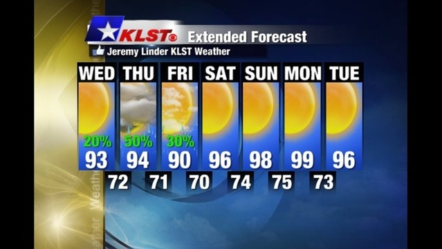 KLST Wed. 07/16/14 Noon Weather