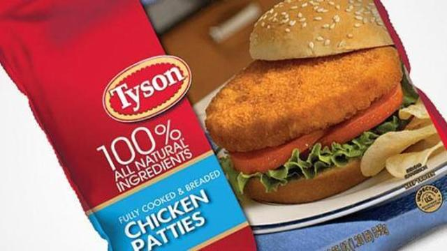 Tyson recalls nearly 2.5 million pounds of chicken products