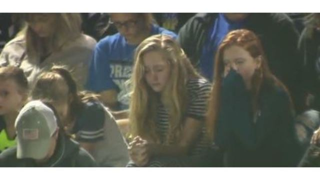 Vigil at La Vernia High School held for church shooting victims
