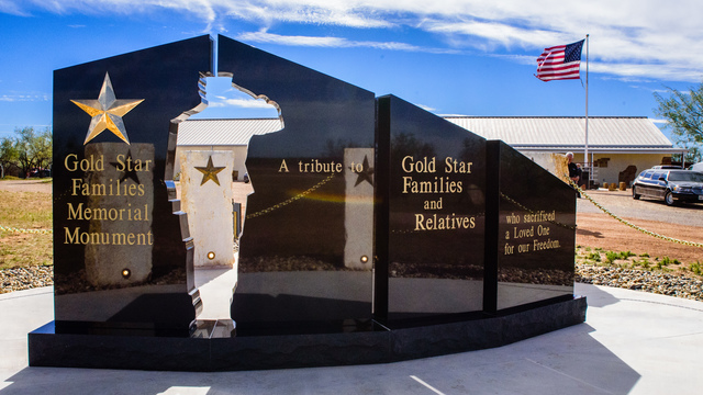 Gold Star Families Memorial Monument Dedication