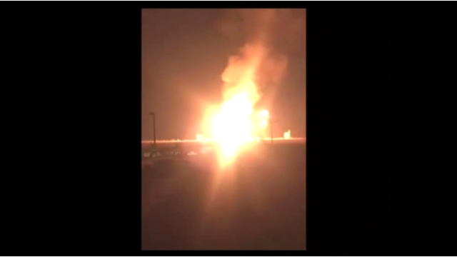 Pipeline explodes in Eddy County, residents in area asked to self-evacuate