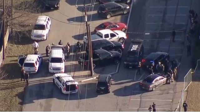 Suspect in custody after U.S. school shooting