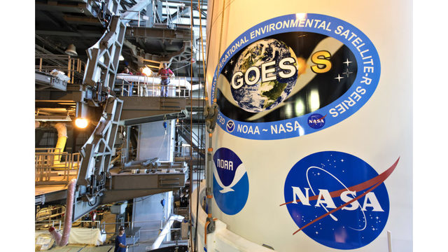 GOES Weather Satellite Prepped For Launch Aboard Atlas V Rocket