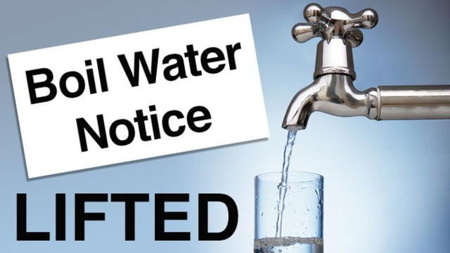 Boil-water notice no longer in effect