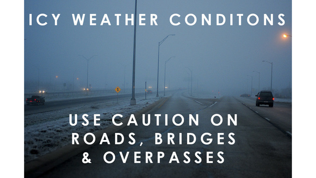 Weather Delays | Icy weather visits Concho Valley, multiple crashes reported