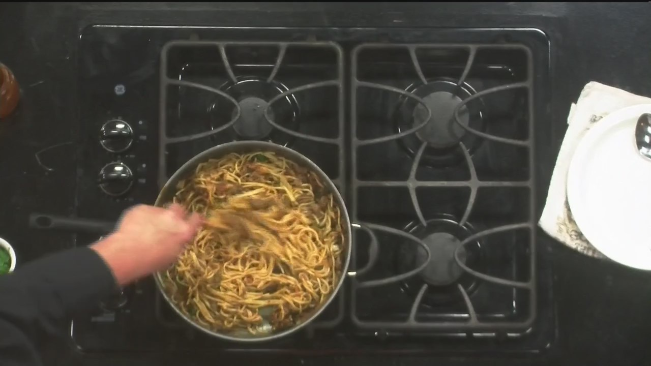 texas chef s bbq spaghetti part 2 cv live