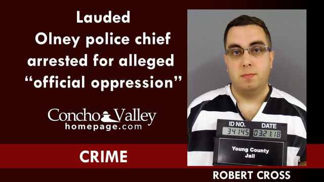 Lauded police chief arrested for alleged lewd behavior, 'official oppression'