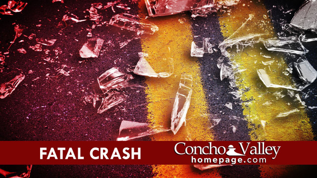 FATAL CRASH: Driver, deceased passenger ID'd in fatal crash on Abe and Concho