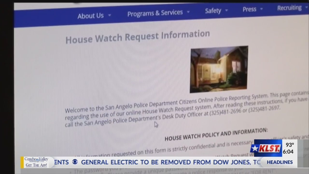 SAPD House Watch Keeps Resident's Homes Safe During Vacation