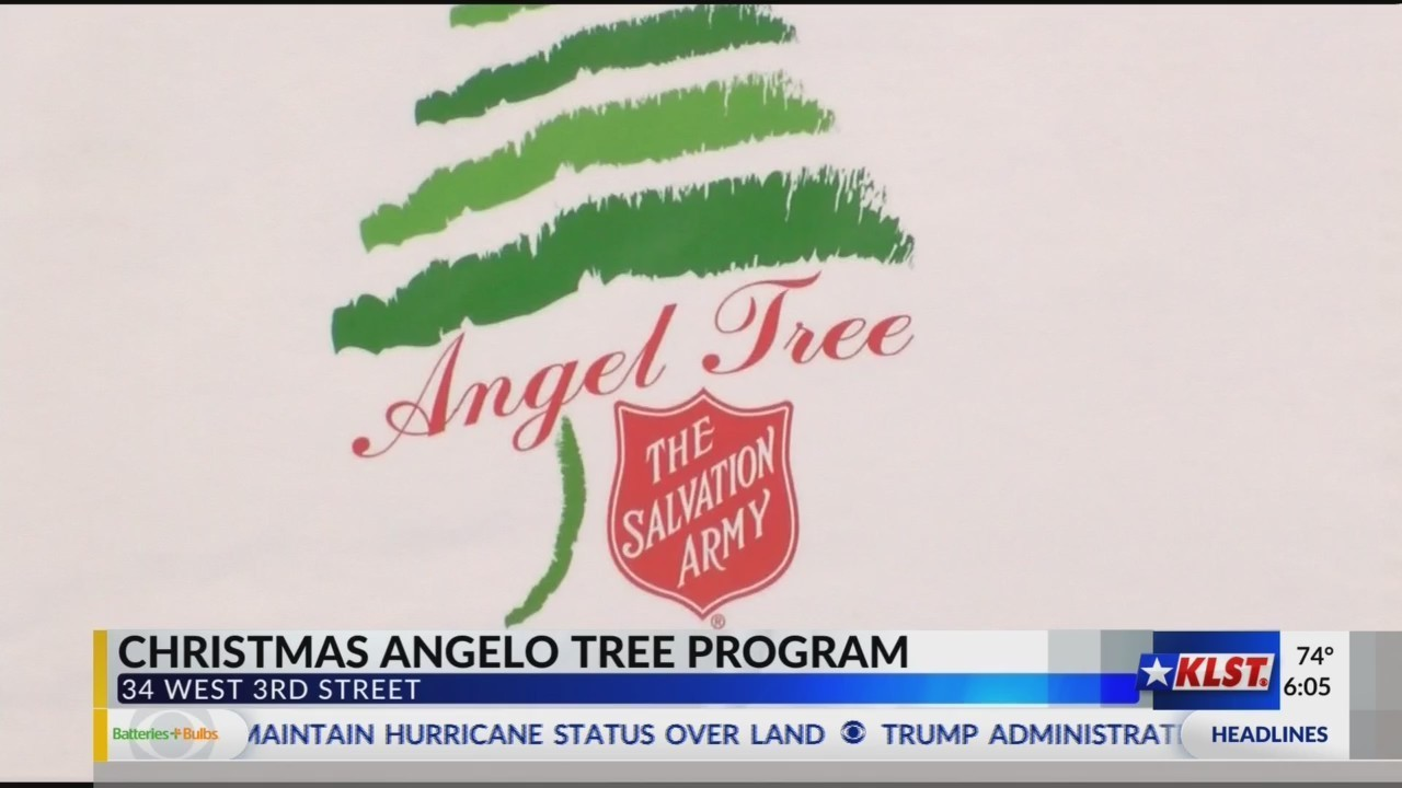 salvation army opens registration for christmas angel tree program - Salvation Army Christmas Angel