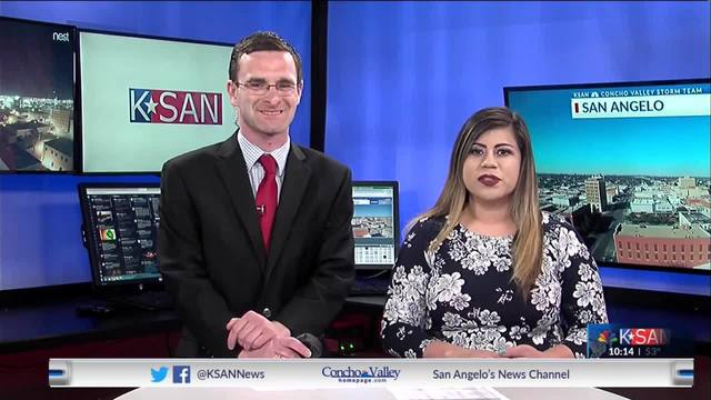 KSAN 10pm Weather - Tuesday March 19, 2019