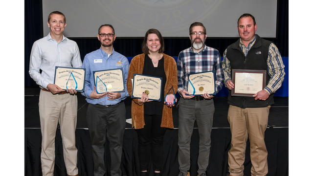 Angelo State awards staff members with excellence
